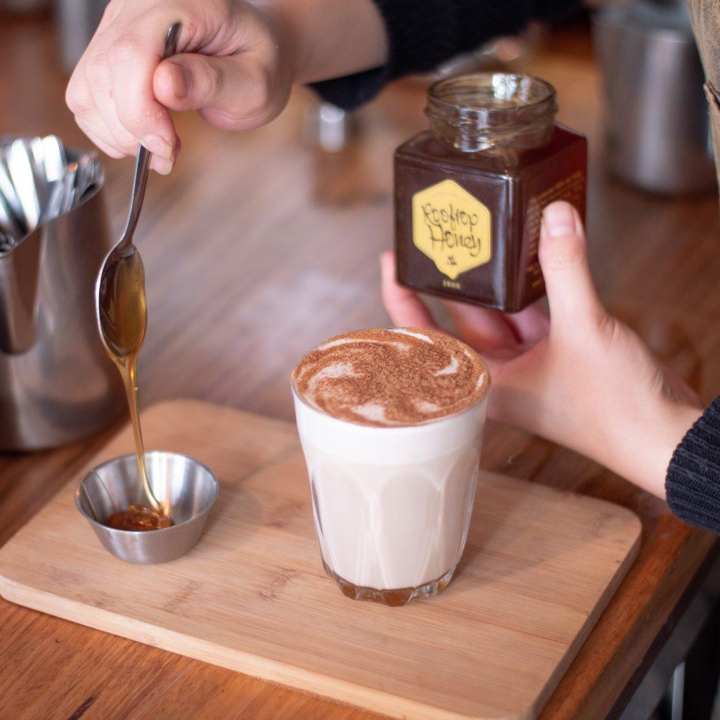 chai & honey at cafe