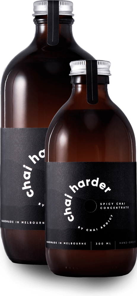 Screenshot of 300ml & 500ml chai harder spicy chai concentrate