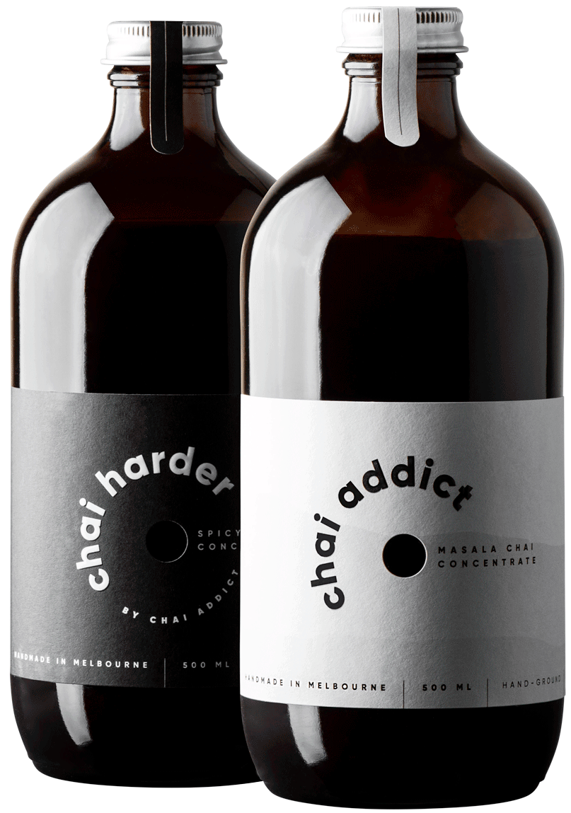 twin addict & harder bottles