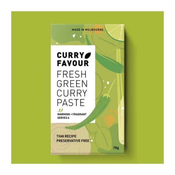 curry favour thai green curry