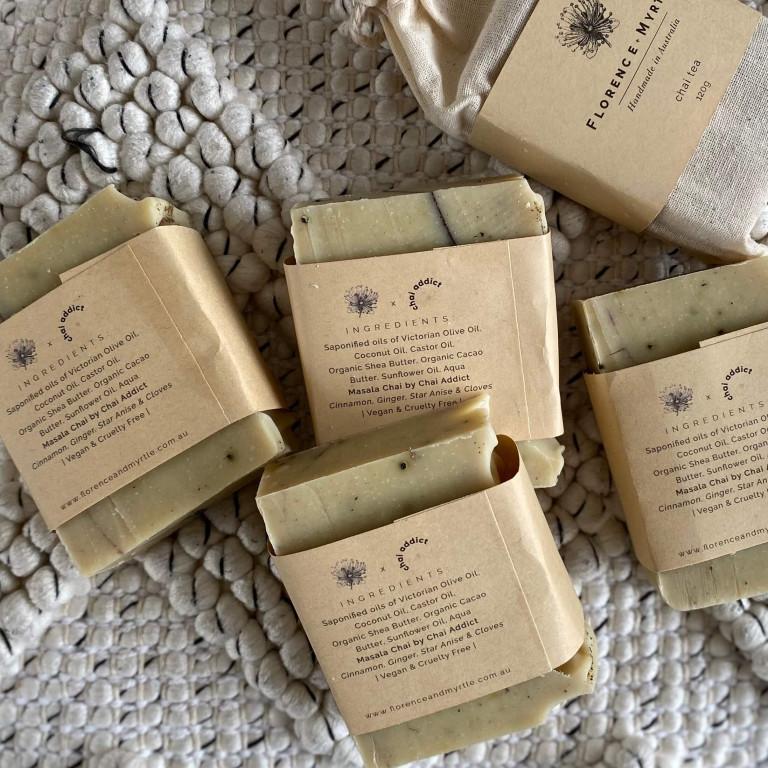 5 chai soaps